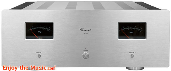 Vincent SP-332 Stereo Hybrid Power Amplifier Review