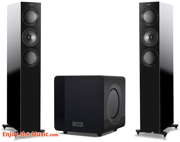 KEF R5 Loudspeaker And KF92 Subwoofer Review