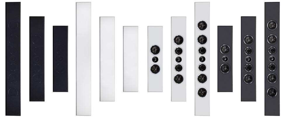 PSB PWM Family in Black and White and with Grilles on and Off