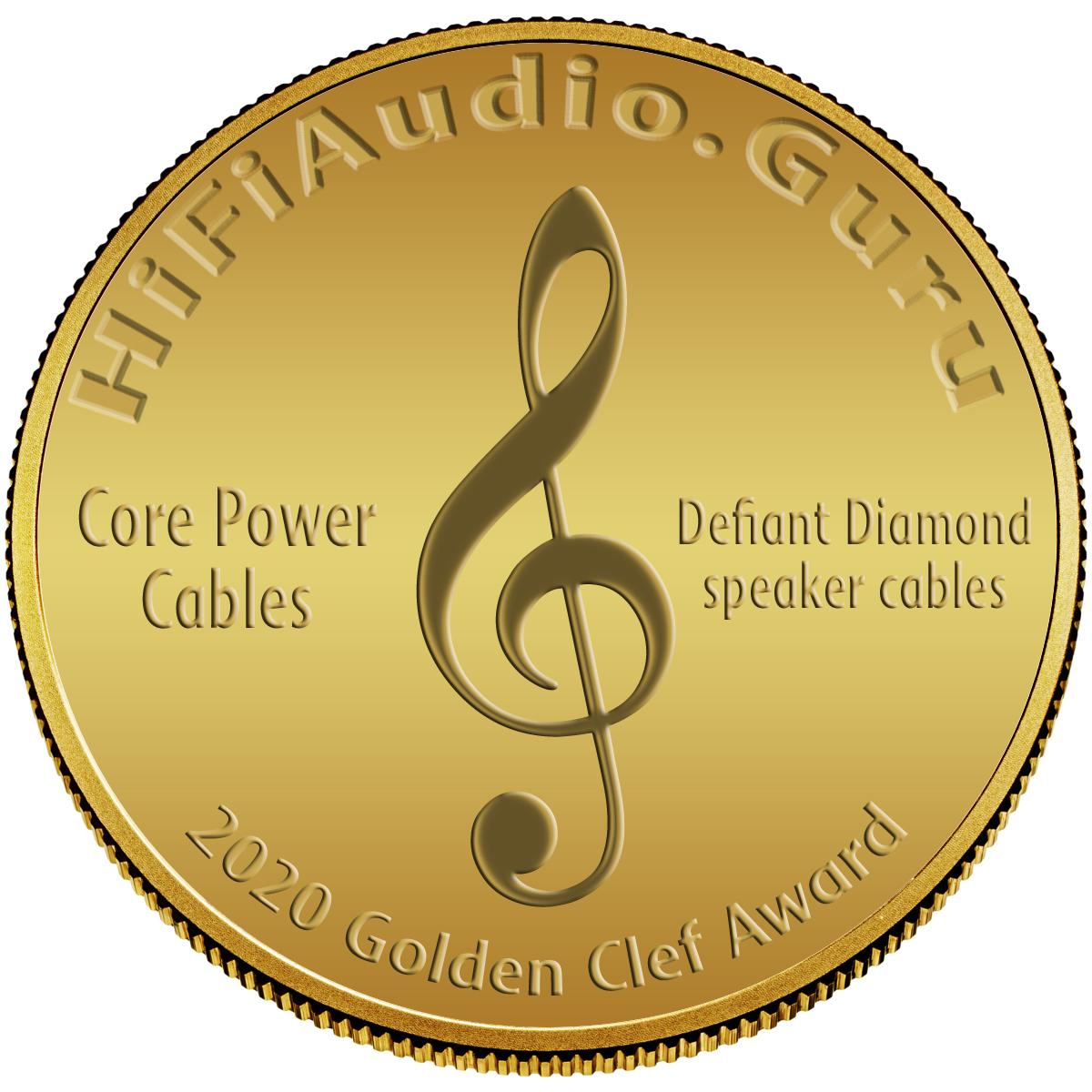 Core Power Cables Defiant Diamond speaker cables