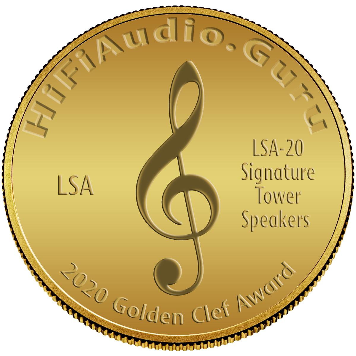 LSA (Living Sounds Audio) LSA 20 Signature Tower Speakers