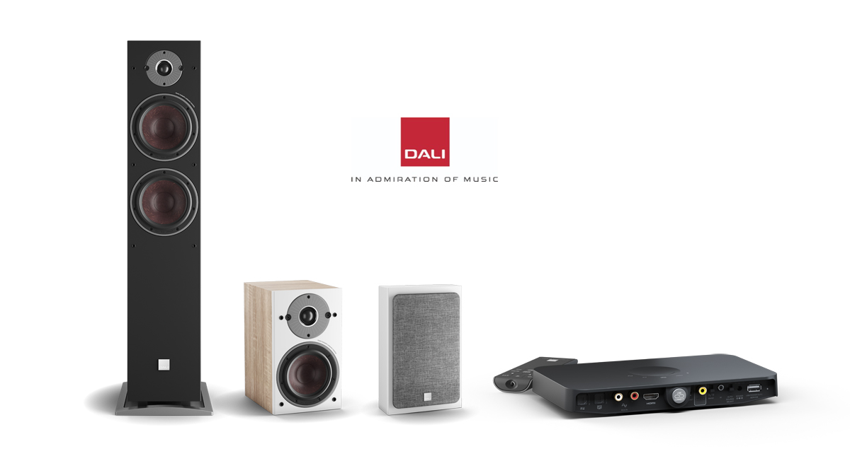 (Left to Right) OBERON C Models 7 C,  1 C, ON-WALL C and SOUND HUB COMPACT