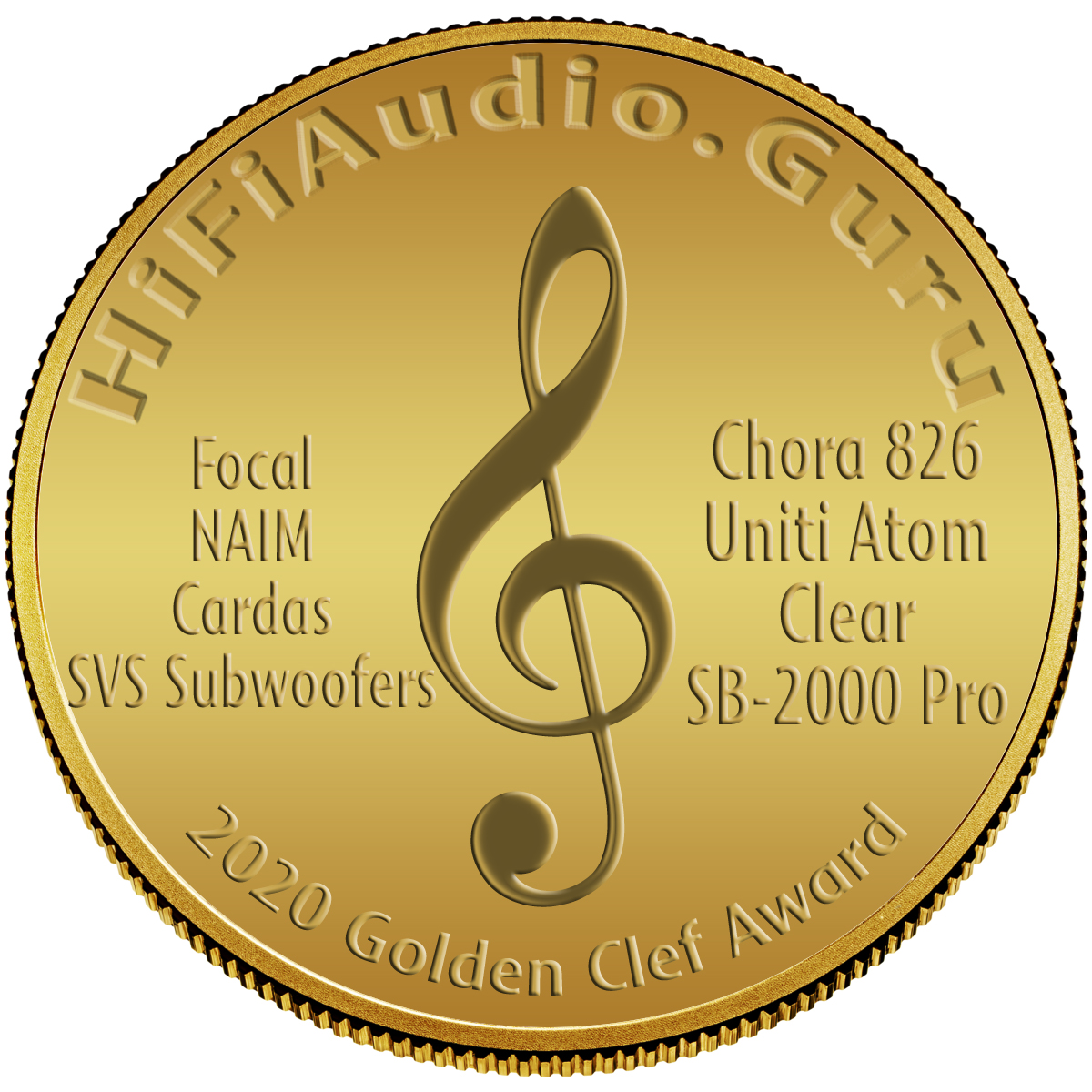 Focal Chora 826, NAIM Uniti Atom, Cardas Clear Cables, SVS Subwoofers SB-2000 Pro Publisher's Choice System of the Year