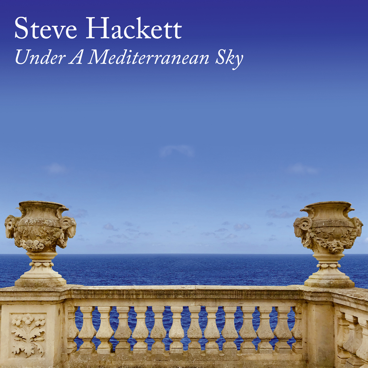 """Steve Hackett """"Under A Mediterranean Sky"""""""