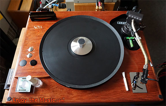 SOTA Nova VI Vinyl LP Turntable Review