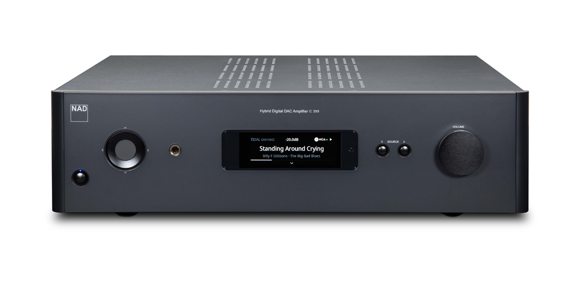 NAD C399 Hybrid Digital DAC Amplifier